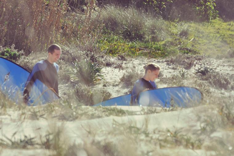 2 Minuten zum Surfspot