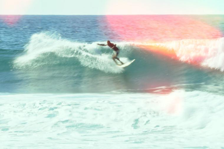 sanfte Sommer Wellen