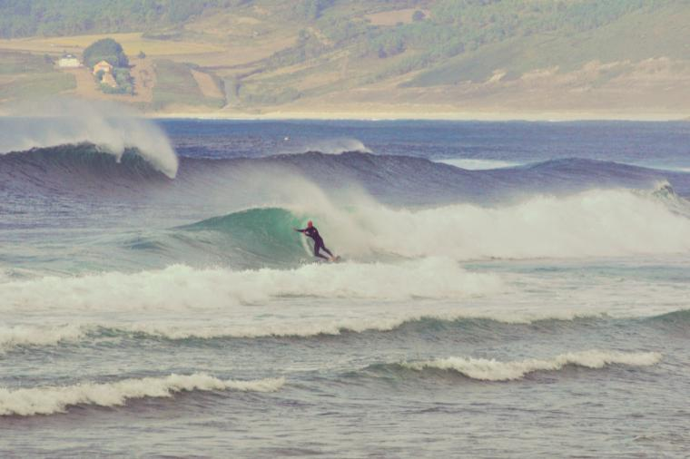 Surfen in Galicien