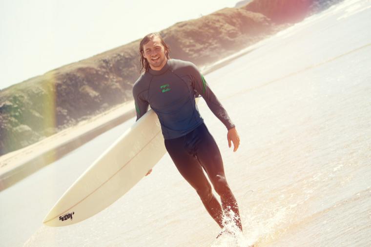 Alex - Surflehrer mit Leib und Seele