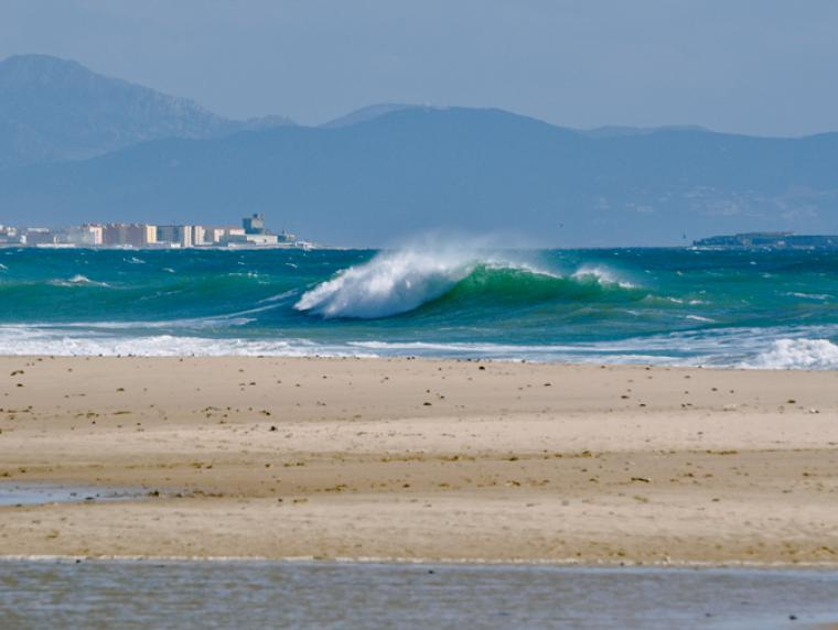 Bucht bei Tarifa - Valdevaqueros